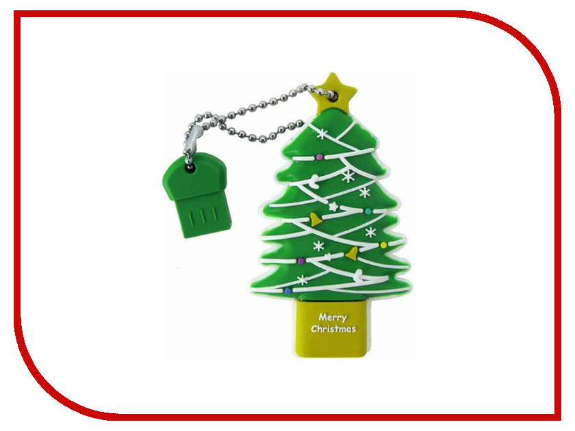 USB Flash Drive 8Gb - Iconik Ёлка RB-TREE-8GB<br>