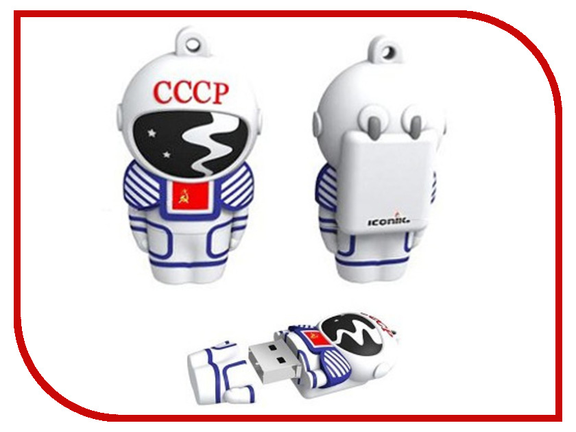 купить USB Flash Drive 8Gb - Iconik Космонавт RB-CCCP-8GB дешево