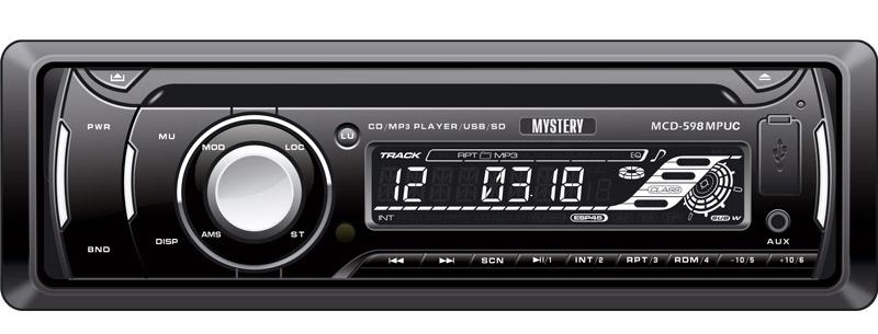 Автомагнитола Mystery MCD-598MPUC mystery mcd 646mpu