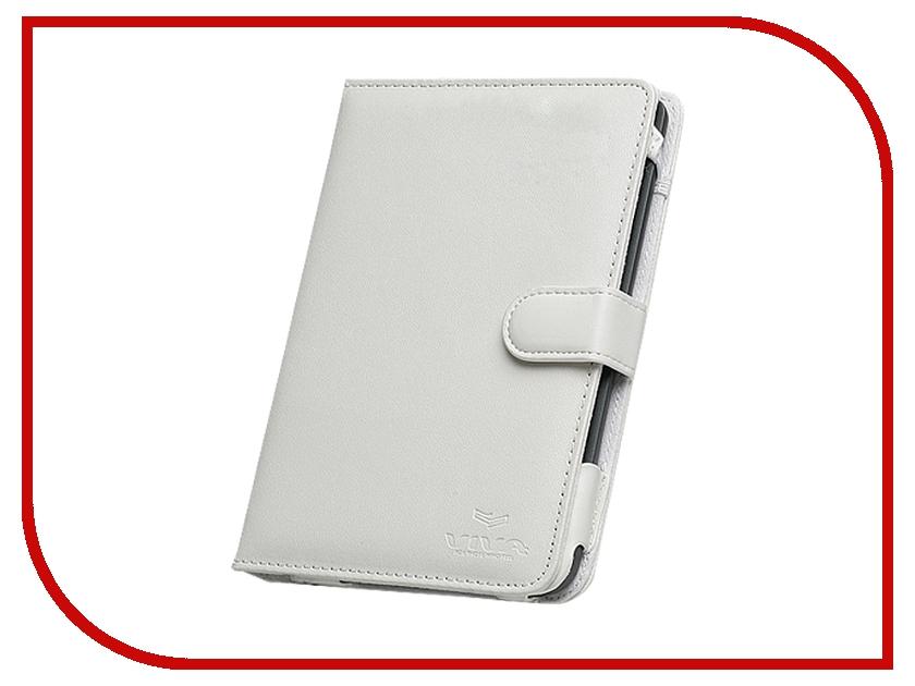 Аксессуар Чехол for Pocketbook 622 Touch Time кожаный White