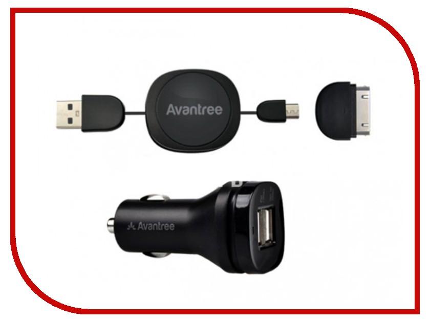 �������� ���������� Avantree Hi-Power Dual USB Car Charger Set CGST-09 2100mA USBx2 �������������