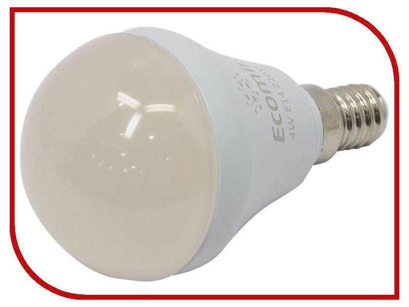 Лампочка Ecomir E14 4W 3000K 220V матовая, желтый свет, экв. 45W 42906 цена