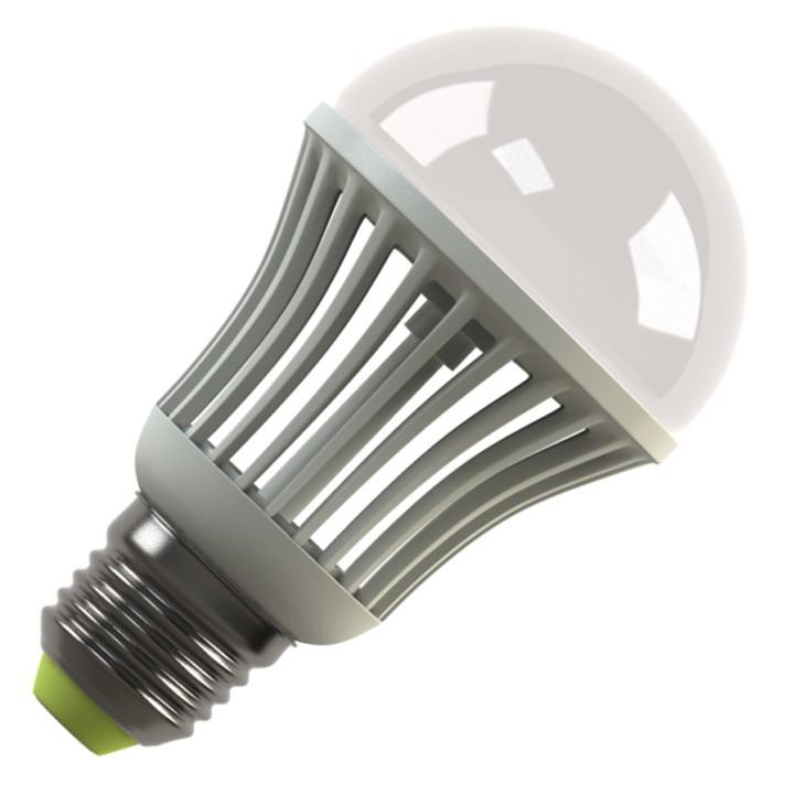 Лампочка Ecomir E27 5.5W 3000K 220V матовая, желтый свет, экв. 60W 42920<br>
