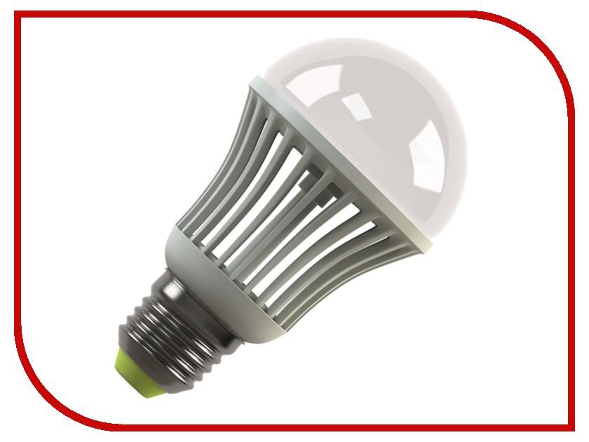 Лампочка Ecomir E27 9W 3000K 220V матовая, желтый свет, экв. 100W 42944 лампочка ecomir 7w 3000k 220v e27 матовая желтый свет экв 75w 42937