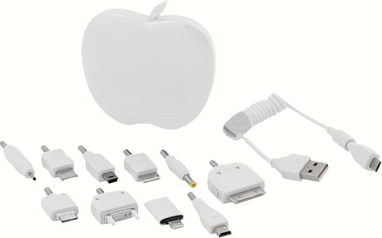 Аккумулятор Dicom Powerbank PB-3200 AP для iPhone 5 White