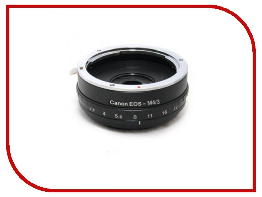 Переходное кольцо Fujimi Adapter EOS / Micro 4/3 с диафрагмой for Panasonic/Olympus FJAR-EOS43AP