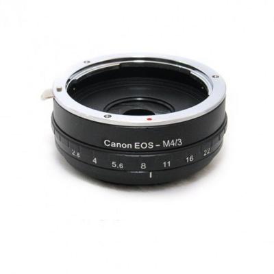 Фото - Кольцо Fujimi Adapter EOS / Micro 4/3 с диафрагмой for Panasonic/Olympus FJAR-EOS43AP 719 коляска прогулочная camarelo eos 04 коричневый бежевый eos 04