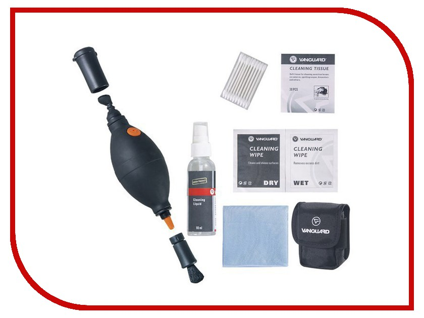 Аксессуар VANGUARD Cleaning Kit 6-in-1 набор CK6N1