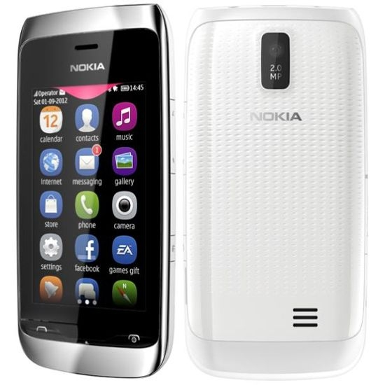 Сотовый телефон Nokia 309 Asha White