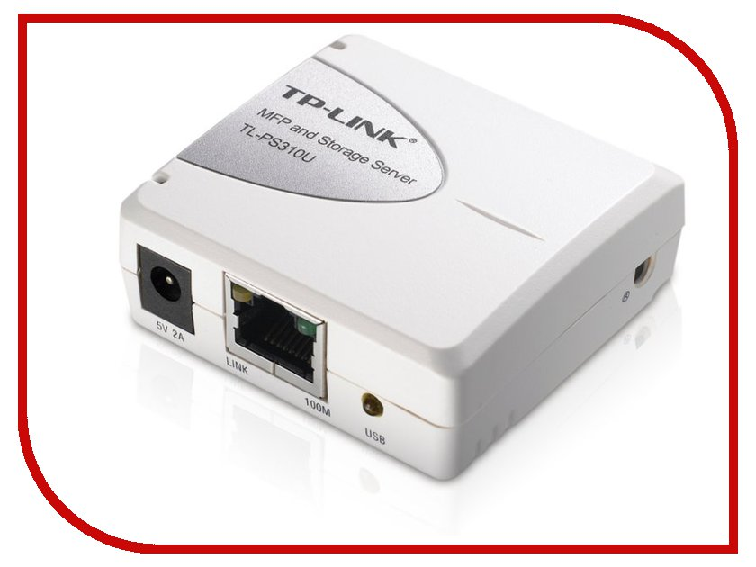 Принт-сервер TP-LINK TL-PS310U принт сервер tp link tl ps110p single parallel port fast ethernet print server