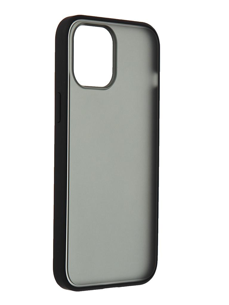 Чехол Gurdini для APPLE iPhone 12 Pro Max Shockproof Black 913011