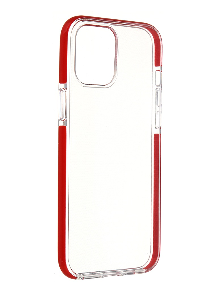 Чехол Gurdini для APPLE iPhone 12 Pro Max Crystall Ice Silicone Red 913032