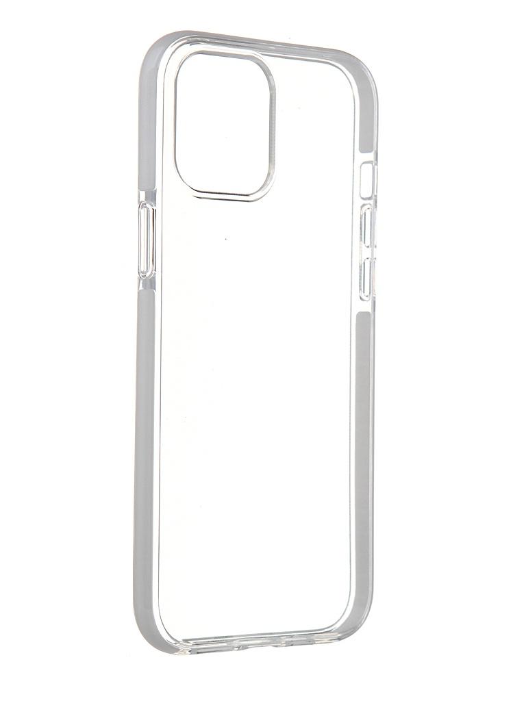 Чехол Gurdini для APPLE iPhone 12 Pro Max Crystall Ice Silicone White 913031