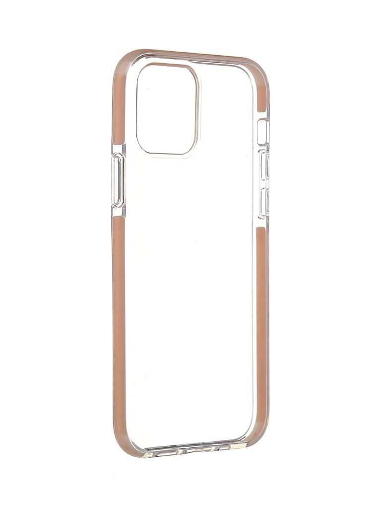Чехол Gurdini для APPLE iPhone 12 / Pro Crystall Ice Silicone Pink 913029