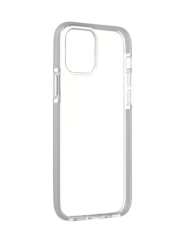 Чехол Gurdini для APPLE iPhone 12 / Pro Crystall Ice Silicone White 913026