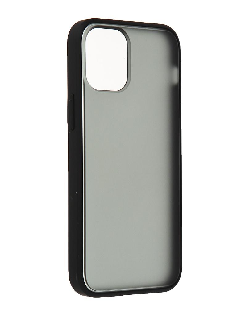 Чехол Gurdini для APPLE iPhone 12 Mini Shockproof Black 913014