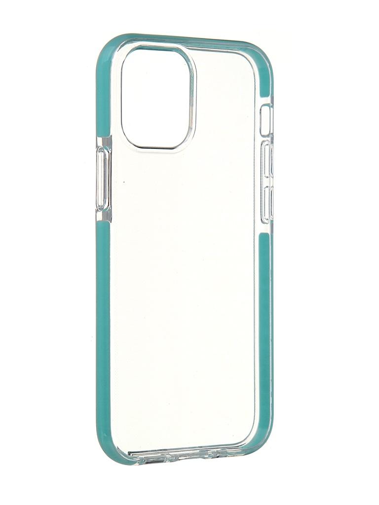 Чехол Gurdini для APPLE iPhone 12 Mini Crystall Ice Silicone Mint 913018