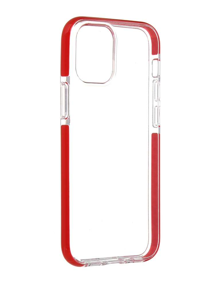 Чехол Gurdini для APPLE iPhone 12 Mini Crystall Ice Silicone Red 913017