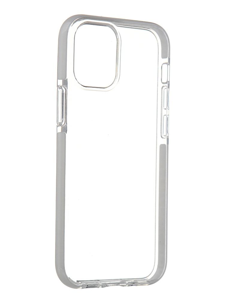 Чехол Gurdini для APPLE iPhone 12 Mini Crystall Ice Silicone White 913016