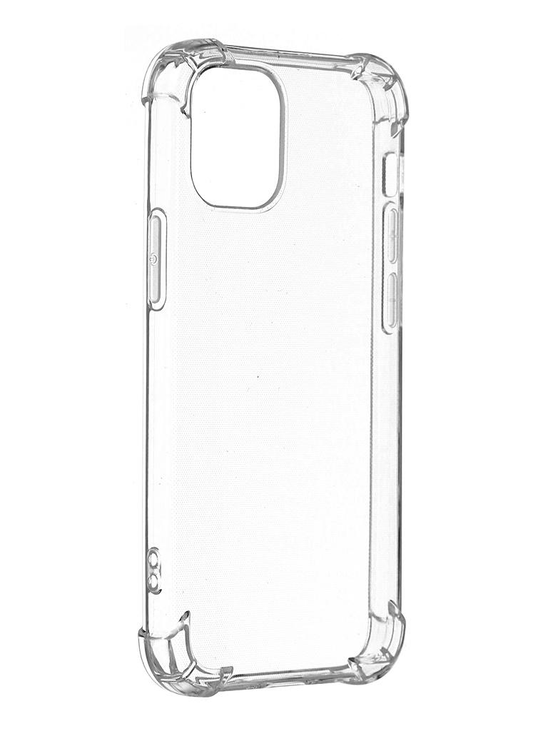 Чехол iNeez для APPLE iPhone 12 Mini Silicone Transparent 913135