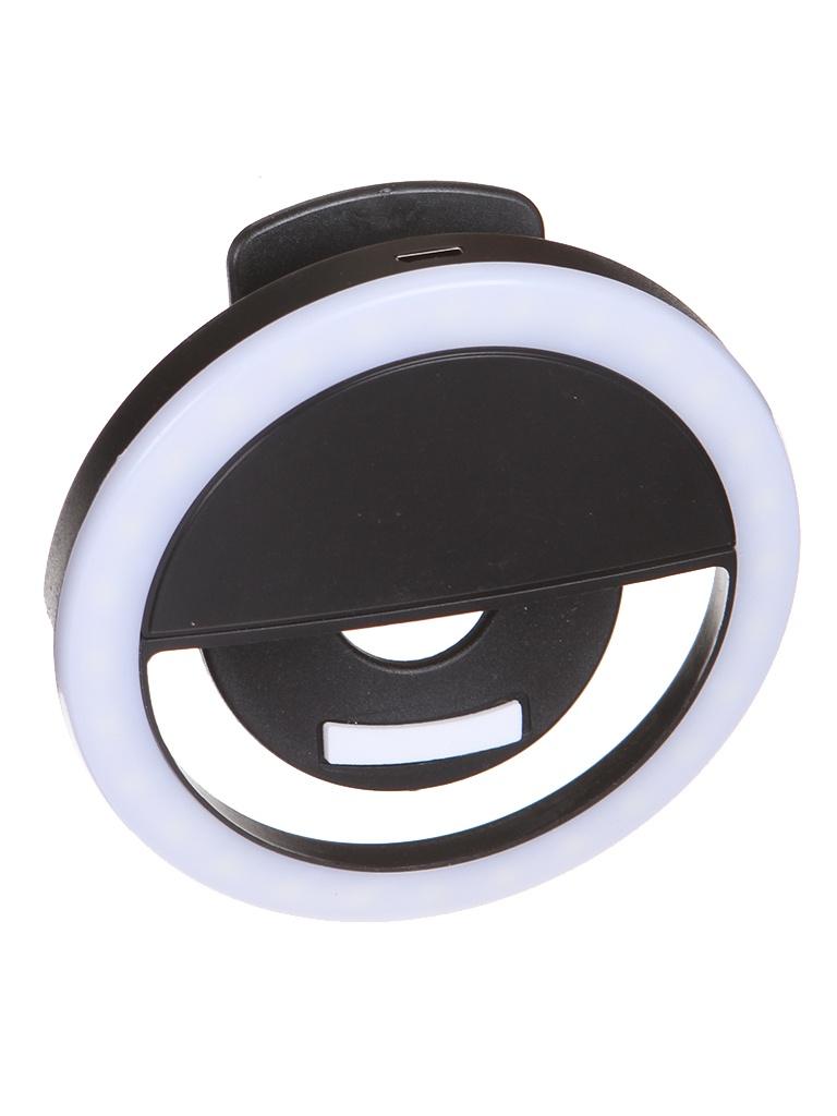 Кольцевая лампа mObility Black УТ000023367