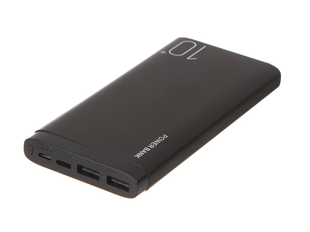 Внешний аккумулятор Red Line Power Bank RP-31 10000mAh Metal Black УТ000021518