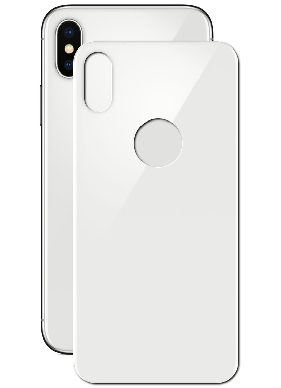 Защитное стекло заднее Barn&Hollis APPLE iPhone X/XS Full Screen 3D White УТ000021464