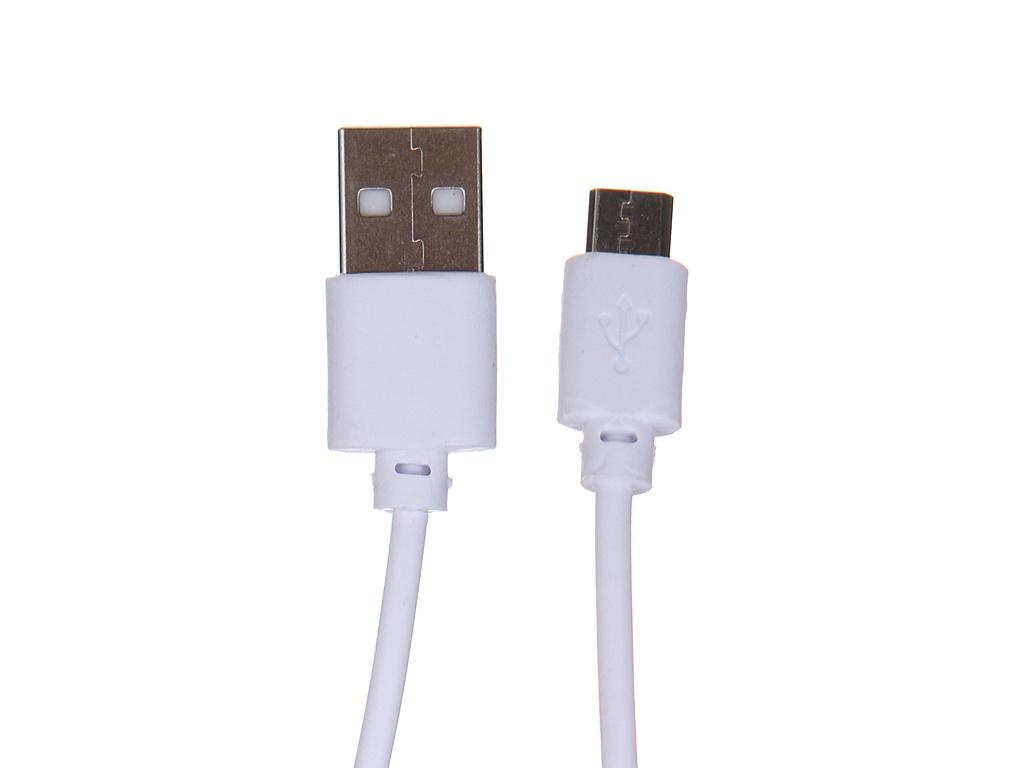 Фото - Аксессуар Red Line USB - microUSB White УТ000023131 аксессуар qumo usb microusb 1 8m white 24429