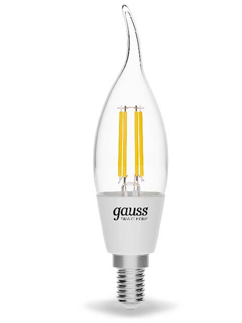 Лампочка Gauss Smart Home DIM E14 4.5W 2700K 495Lm 1260112