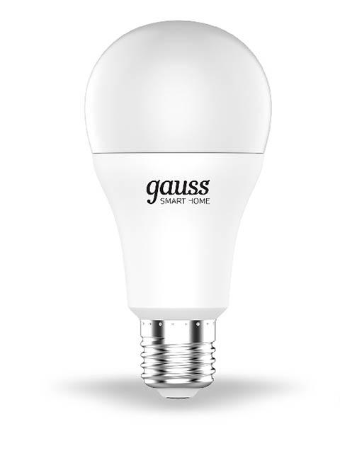 Лампочка Gauss Smart Home DIM E27 A60 10W 2700К 1055Lm 1070112