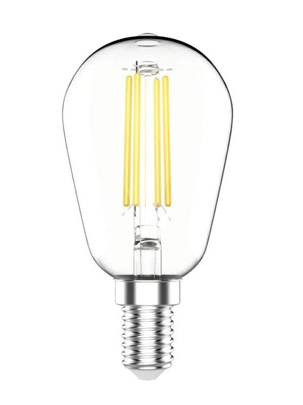 Лампочка Gauss Basic Filament ST45 Е14 4.5W 2700К 470Lm 1141115 лампочка gauss elementary gu5 3 mr16 5 5w 470lm 6500k 13536