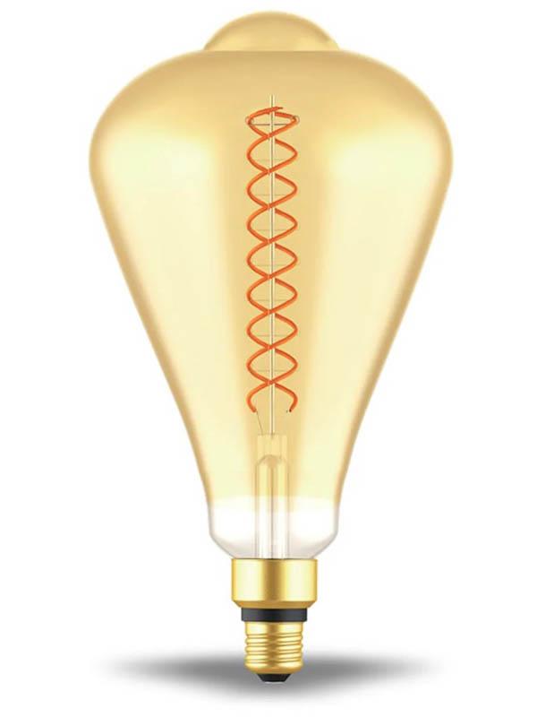 Лампочка Gauss Filament ST164 Е27 8.5W 2000К 660lm Golden Flexible 157802105