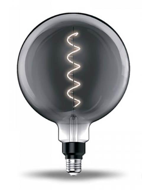 Лампочка Gauss Filament G200 Е27 4.5W 1800К 100Lm Grey Flexible 154802005