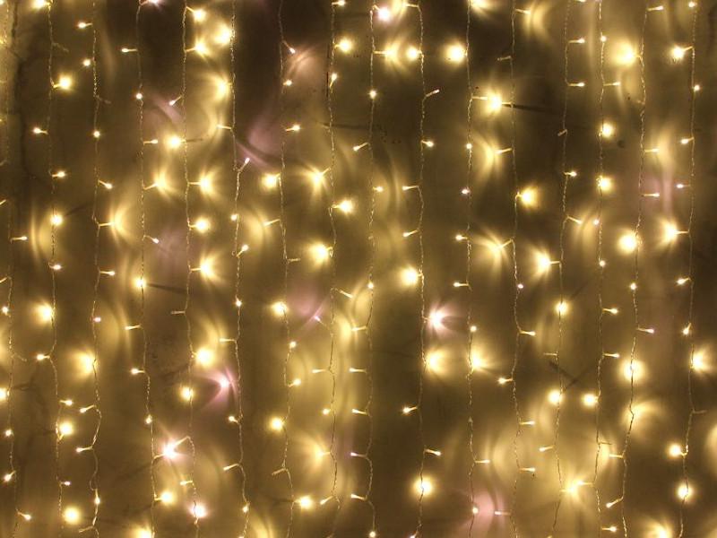 Гирлянда Beauty Led Занавес Play Light 2x2m Warm White PCL400NOT-10-2WW
