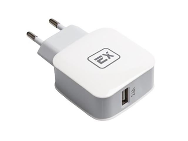 Зарядное устройство Exployd Sonder 1xUSB 2.4A QC3.0 White EX-Z-433