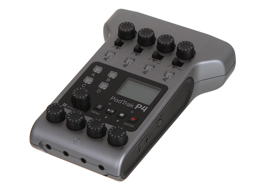Аудиорекордер Zoom PodTrak P4