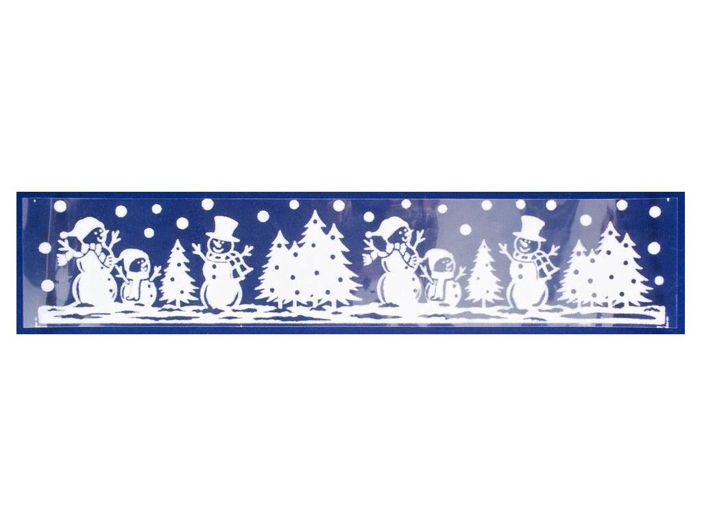 Наклейка-бордюр Peha Magic Снеговички и ёлочки 2.5x58.5cm JC-20290