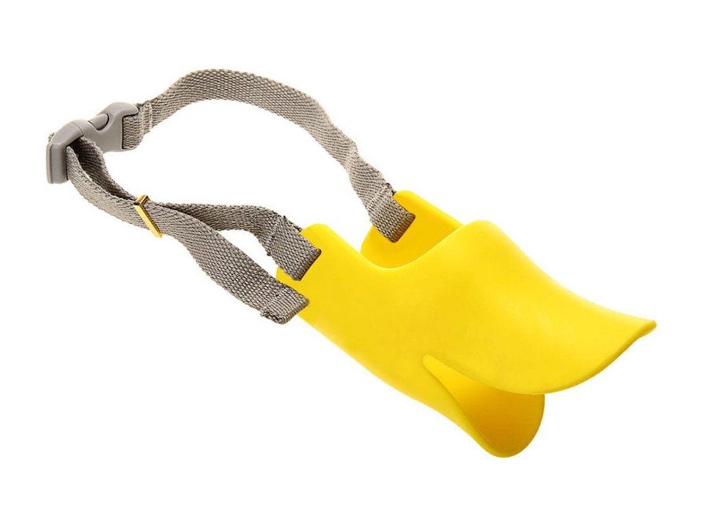 Силиконовый намордник ZDK Размер S Yellow Sil_0014
