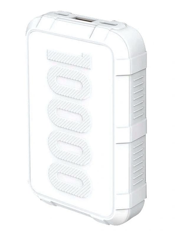 Внешний аккумулятор XO Power Bank PR-107 10000mAh White 913455