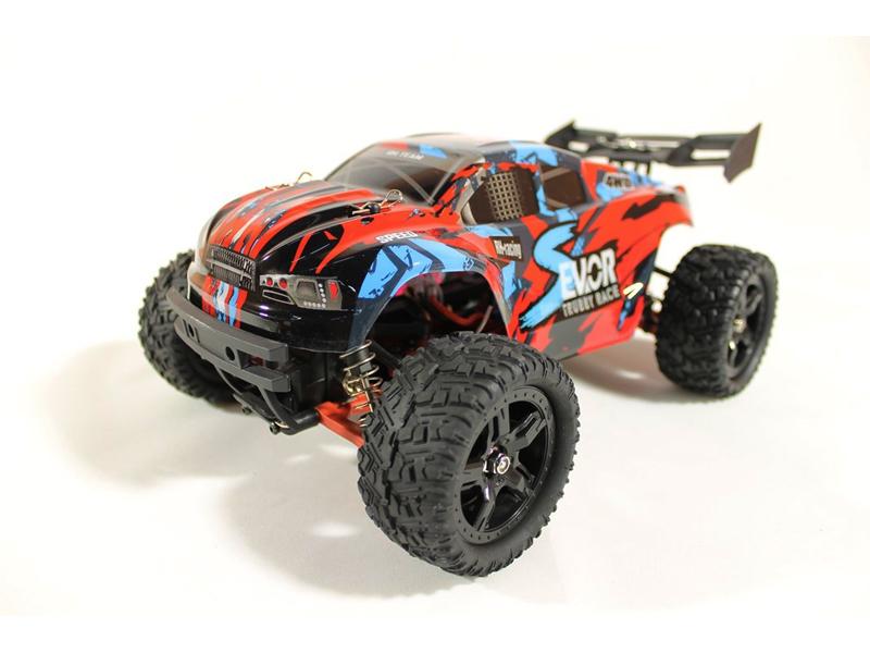 Радиоуправляемая игрушка Remo Hobby S Evo-R Brushless Upgrade 4WD 1:16 Red RH1665UPG