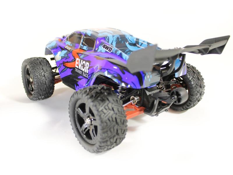 Радиоуправляемая игрушка Remo Hobby S Evo-R Upgrade 4WD 1:16 Blue RH1661UPG