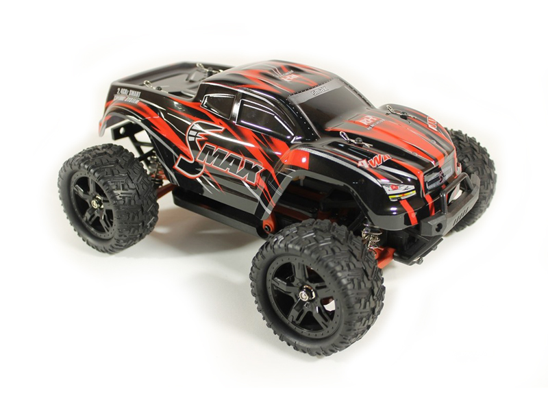 Радиоуправляемая игрушка Remo Hobby Smax Brushless Upgrade 4WD 1:16 Red RH1635UPG