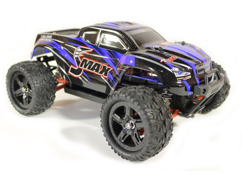 Радиоуправляемая игрушка Remo Hobby Smax Brushless Upgrade 4WD 1:16 Blue RH1635UPG