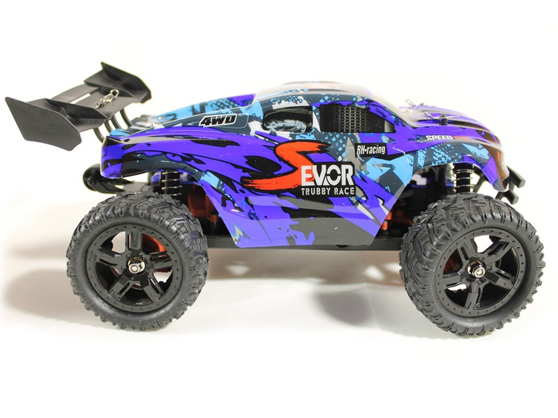 Радиоуправляемая игрушка Remo Hobby S Evo-R Brushless Upgrade 4WD 1:16 Blue RH1665UPG