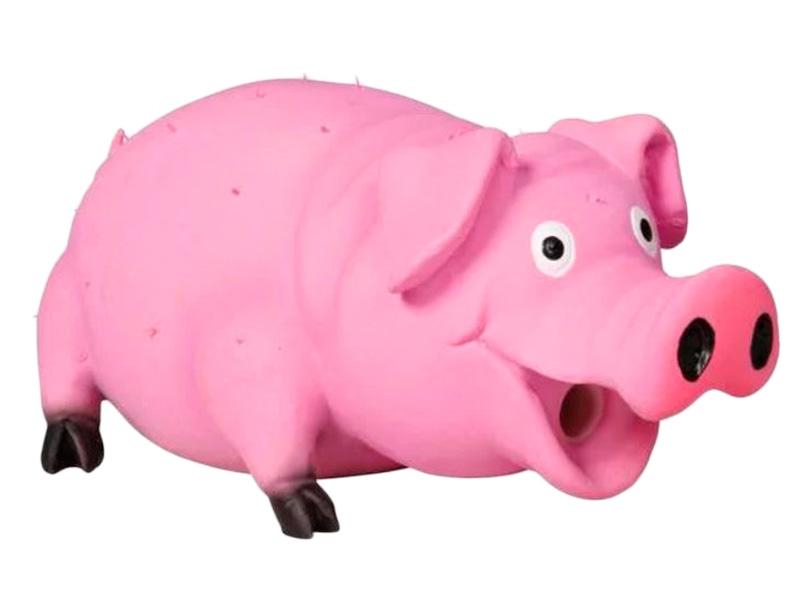 Игрушка для собак Трикси Свинка с щетиной 10cm 36561