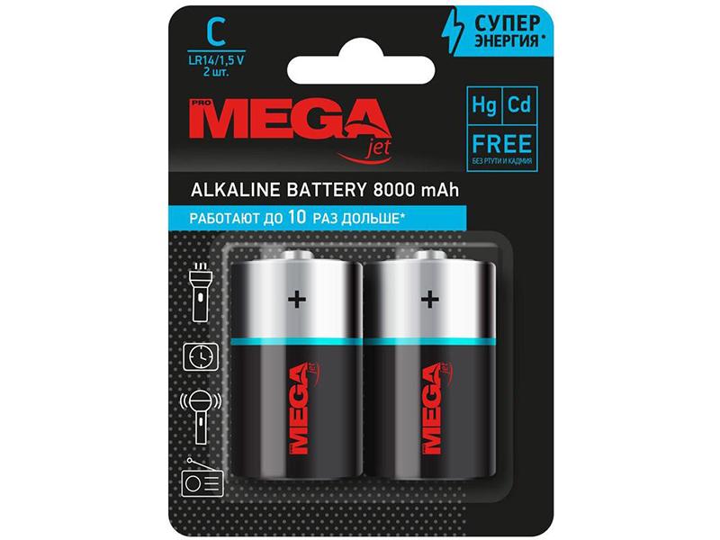 Батарейка C - ProMega E93 LR14 (2 штуки) 1188312