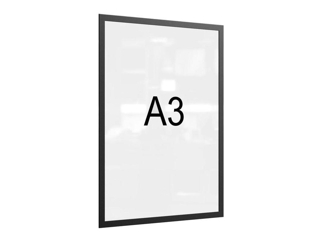 Рамка магнитная Attache A3 Black 1276570