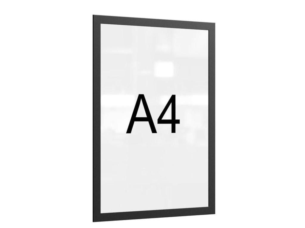 Рамка магнитная Attache A4 Black 1276571