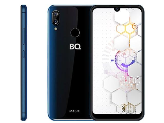 Сотовый телефон BQ 6040L Magic Dark Blue Выгодный набор + серт. 200Р!!! сотовый телефон bq 5731l magic s deep blue