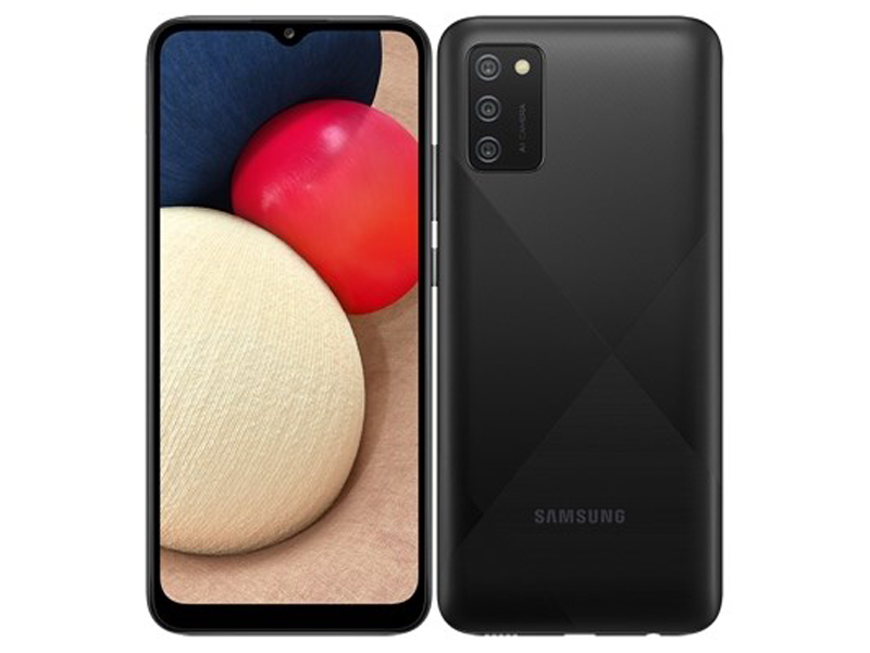 Сотовый телефон Samsung SM-A025F Galaxy A02S 3/32Gb Black смартфон samsung galaxy a02s 3 32gb black